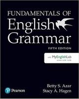 Fundamentals of English Grammar with MyEnglishLab