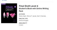 Final Draft 4 w/ Online Writing Pack