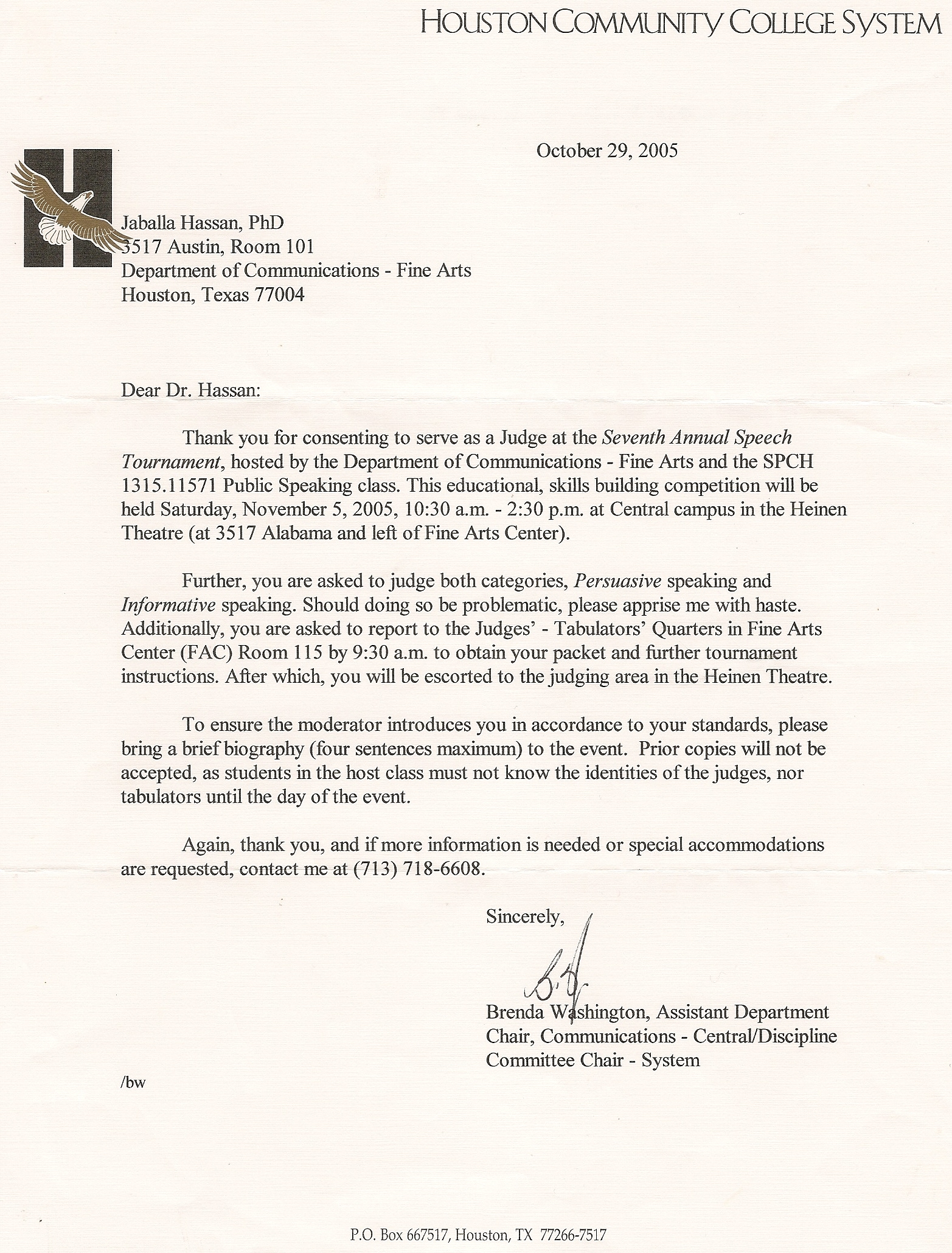 Thank you letter from hcc expocarfo Images