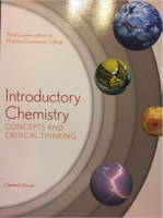 CHEM 1305: Introductory Chemistry - Concepts and Critical Thinking