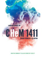 CHEM 1411: General Chemistry I Laboratory Manual