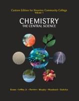 CHEM 1411: Chemistry, The Central Science, Volume I